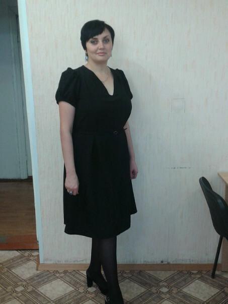 мое большое черненькое платье от Elena Borovskix