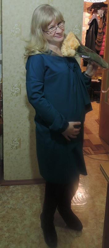 Беременное новогоднее