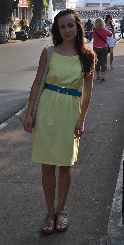 Платье от NadineVaino