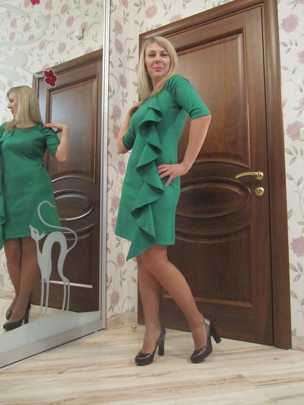 Простое платье сизюминкой! от Alenchik-chel