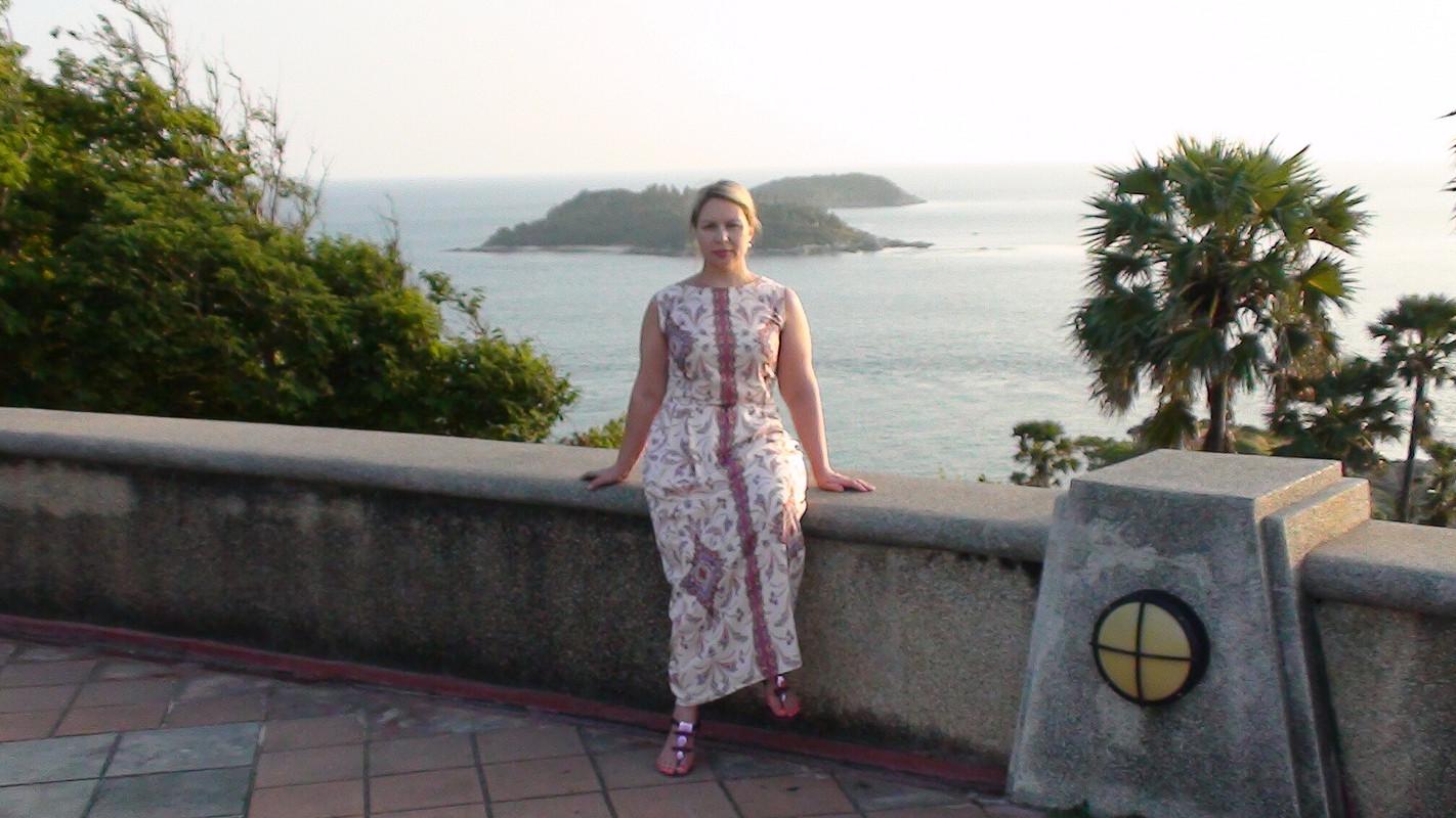 «Тайское» платье или пора стройнеть!