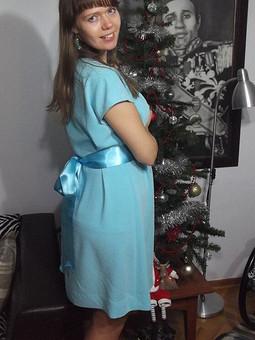 Работа с названием Платье-мешочек или моя