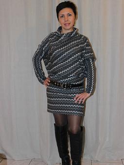 Работа с названием ассиметричное платье