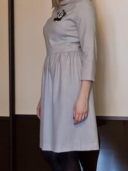 Работа с названием Моё новое платье