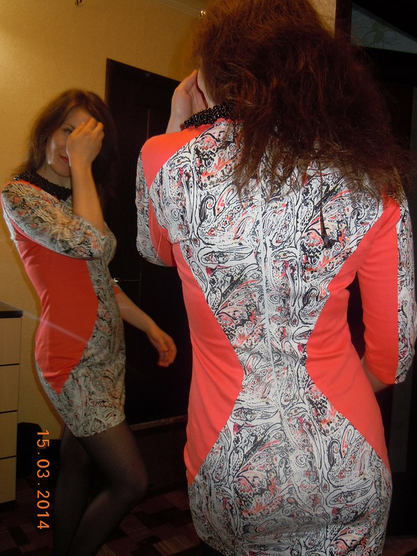 Весеннее платье от Саша А