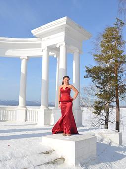 Работа с названием Реплика платья Шарлиз Терон с церемонии Оскар 2013