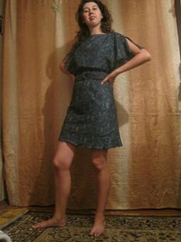 Работа с названием платье из китайского шелка