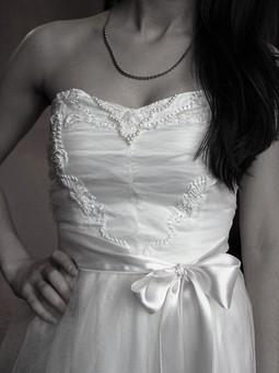 Работа с названием свадебное платье принцессы