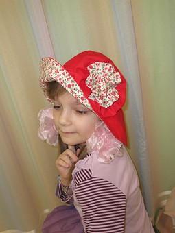 Работа с названием шляпка для девочки
