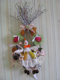 Работа с названием пасхальный декор