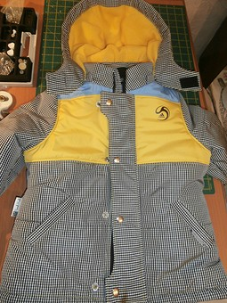 Работа с названием Куртка для любимого сынули)