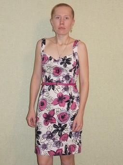 Работа с названием платье для сестры
