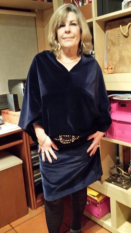 Бархатное платье от Tanos9999