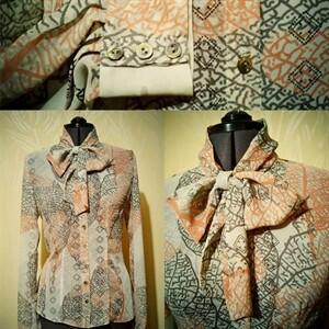 Блуза вофис от jane kharlamova
