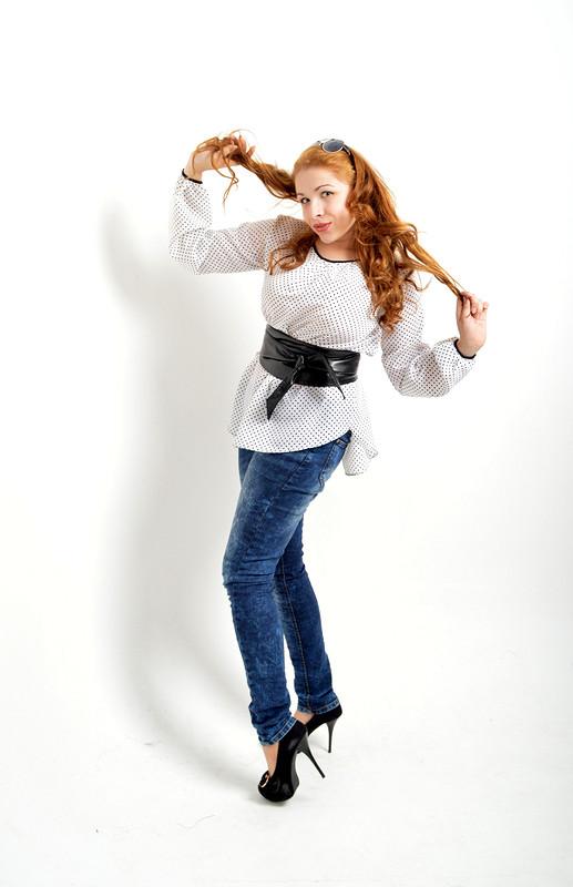 блуза вгорох от Ольга-Забияка