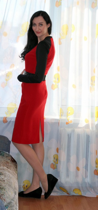 Красное ичерное от ОлеNьКа