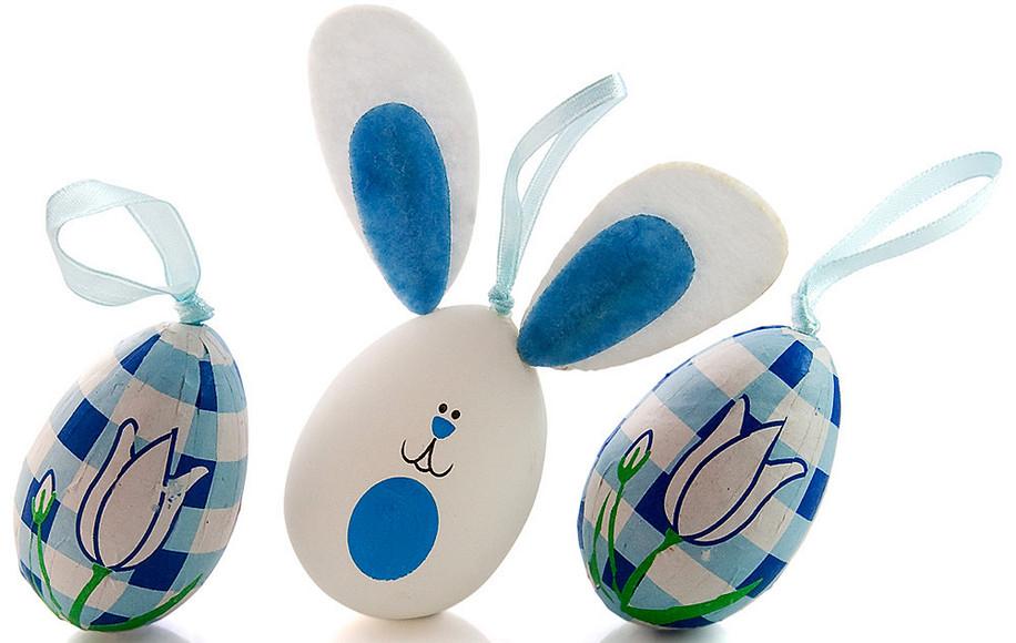 Как сделать декоративное пасхальное яйцо