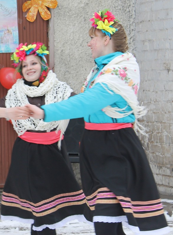 Юбка длялюбого народного танца от Alena Lebed