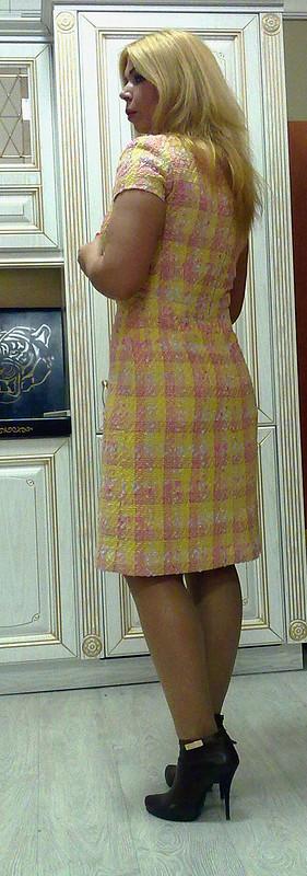 Платье букле( спродолжением)