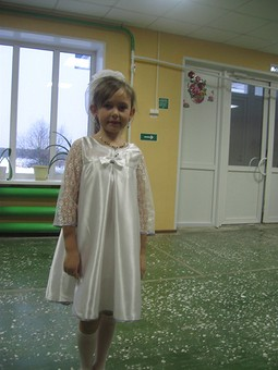Работа с названием платье на праздник