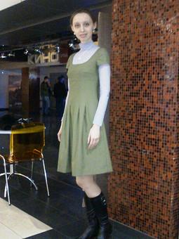 Работа с названием многострадальное платье