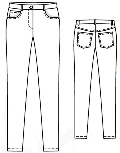 Как сшить брюки-скинни
