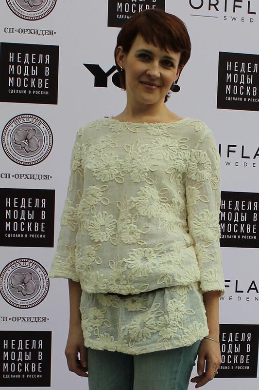 Платье-туника, модель 104, BURDA 3/2010