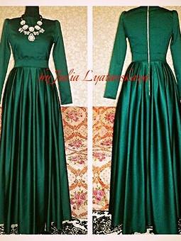 Работа с названием Ох уж эти длинные платья!!!