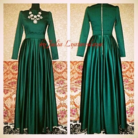 Ох уж эти длинные платья!!! от luatavska