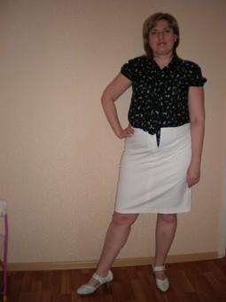 Работа с названием Летняя блузка