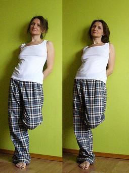 Работа с названием пижамные брюки