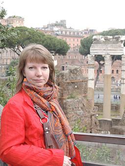 Работа с названием Итальянские каникулы красного плаща в апреле 2014г.
