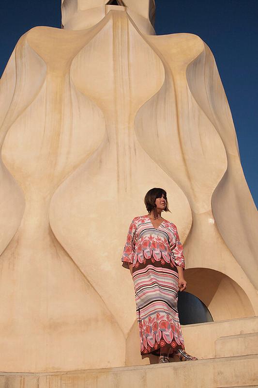 «Жаркое» платье от Natalia F
