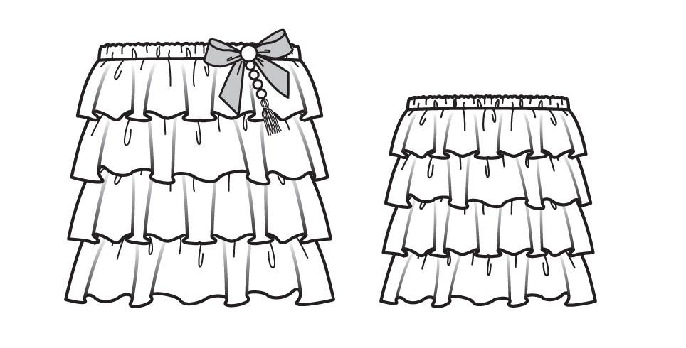 Как сшить платье итоп длядевочки