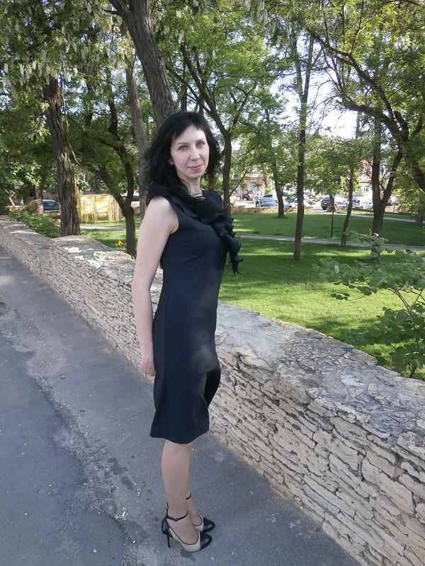 Платье сжабо (уменьшенный вариант)