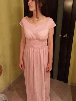 Работа с названием платье в инфантильном горошке