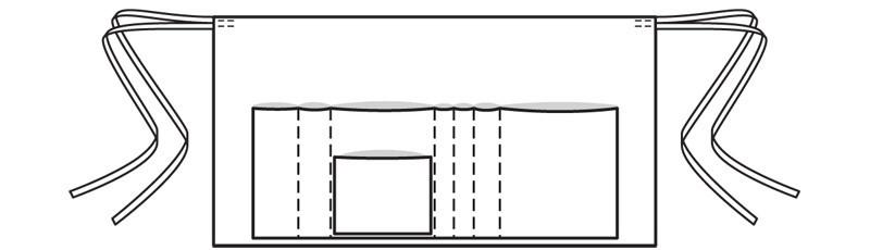 Кожаный фартук: выкройка дляначинающих