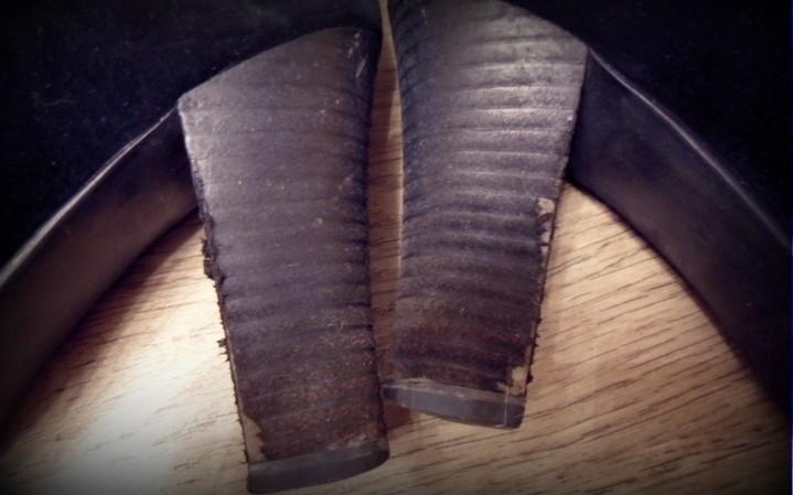 Обтяжка каблука
