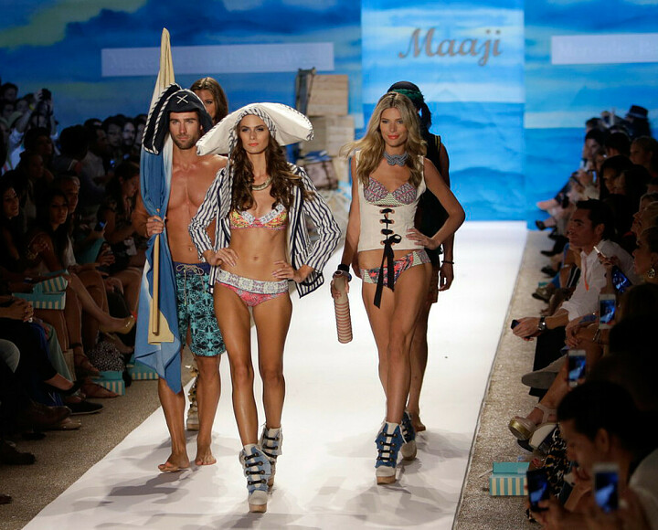 Пляжная мода - модные купальники