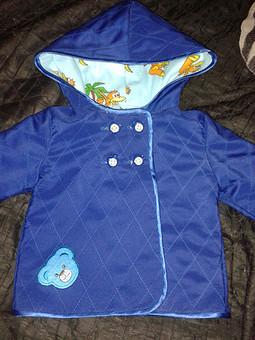 Работа с названием Курточка для сынули