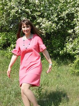 Работа с названием Платье для весны