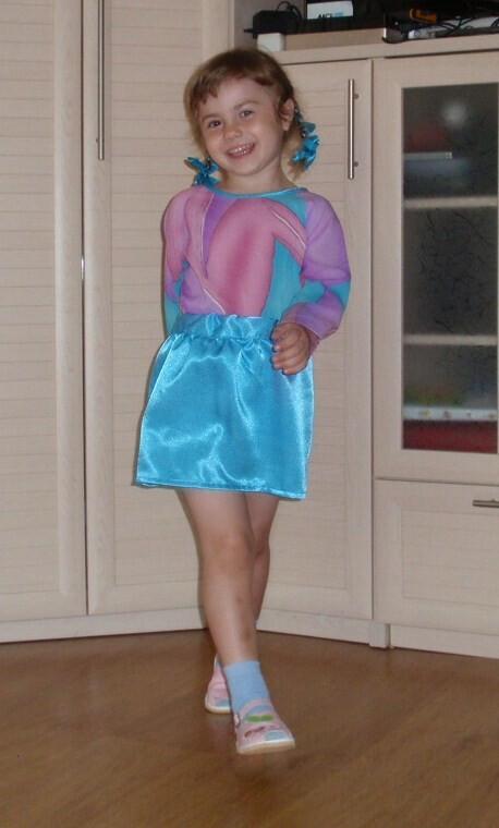 Маленький гардероб избольшой блузы.