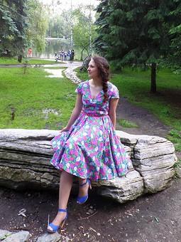 Работа с названием Мое первое платье!!!