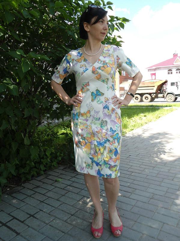 Моё «бабочковое» платье