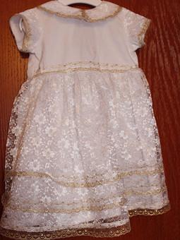Работа с названием Крестильное платье