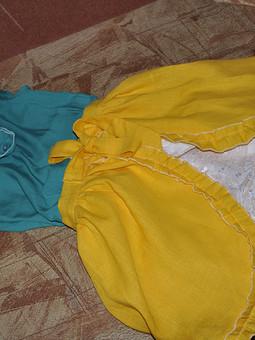 Работа с названием Туника с юбочкой
