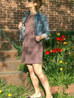 Работа с названием Маленькое летнее платье