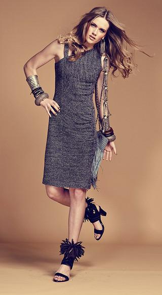 Как сшить асимметричное платье