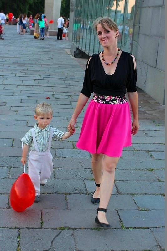 100-рублёвая юбка...