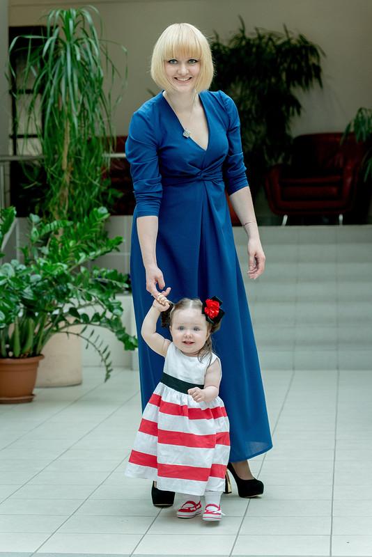 Платье «королевский синий»